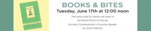 June 2014 Book Club