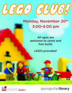 All Ages LEGO Club