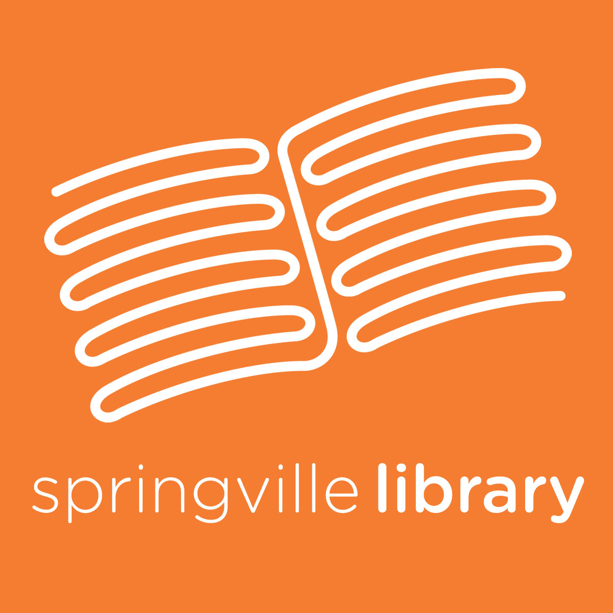 library logo orange