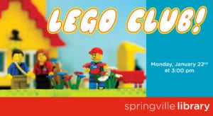 Monday Funday: LEGO Club