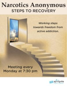 Narcotics Anonymous @ Springville Public Library