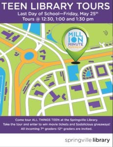 Teen Library Tours