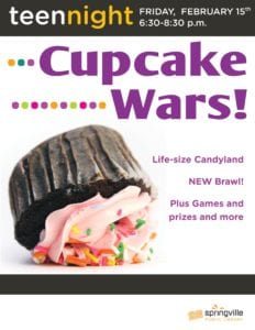 Teen Night: Cupcake Wars
