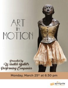 Family Night: Art in Motion