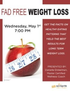 Fad Free Weight Loss CANCELLED