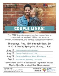 Couple Links @ Springville Public Library