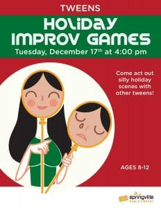 Holiday Improv Games