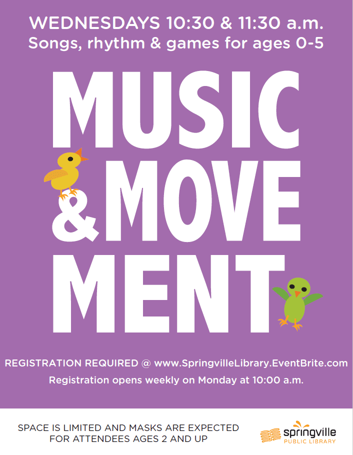 Music & Movement (Registration Required)