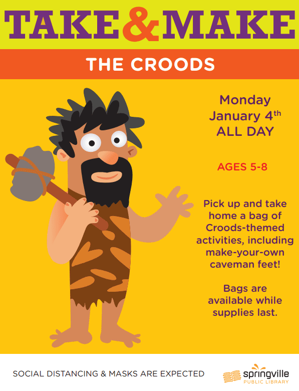 Take & Make: The Croods