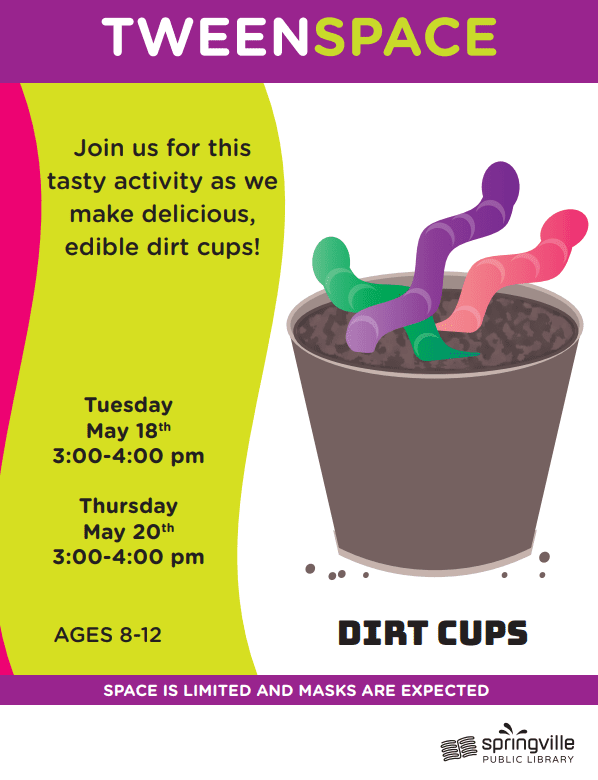 Tween Space: Dirt Cups