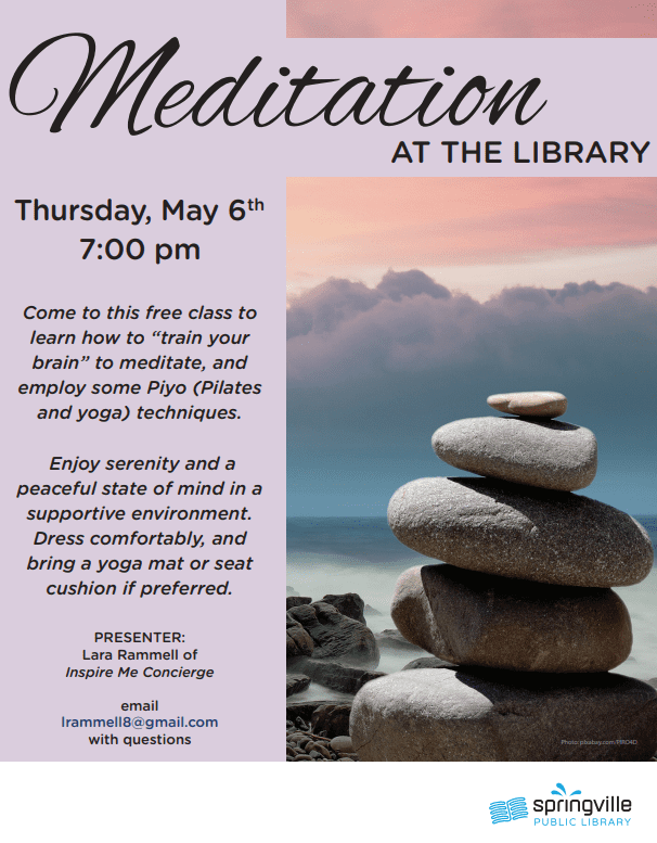 Meditation at the Library