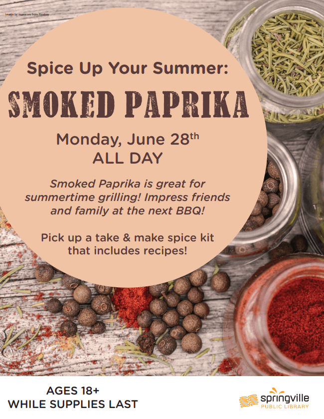 Spice Up Your Summer: Smoked Paprika