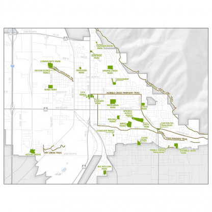 Map of City Parks