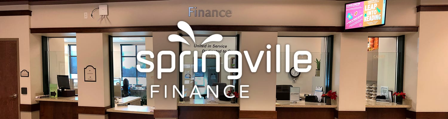 Springville Finance Office