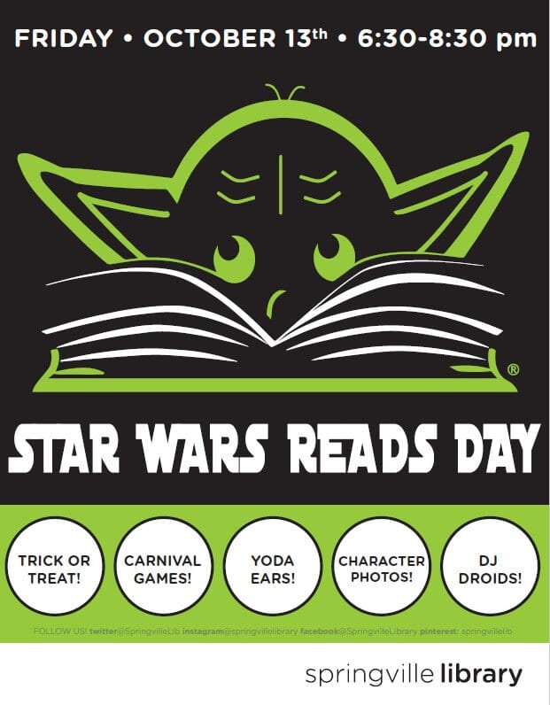 Poster for Star Wars Reads