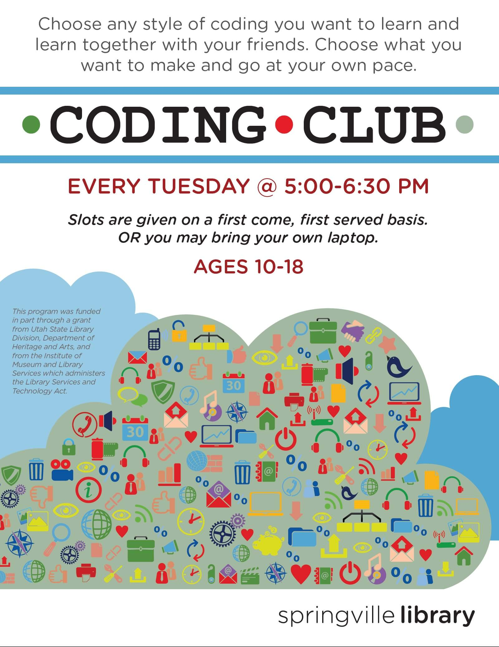 Coding Club Poster