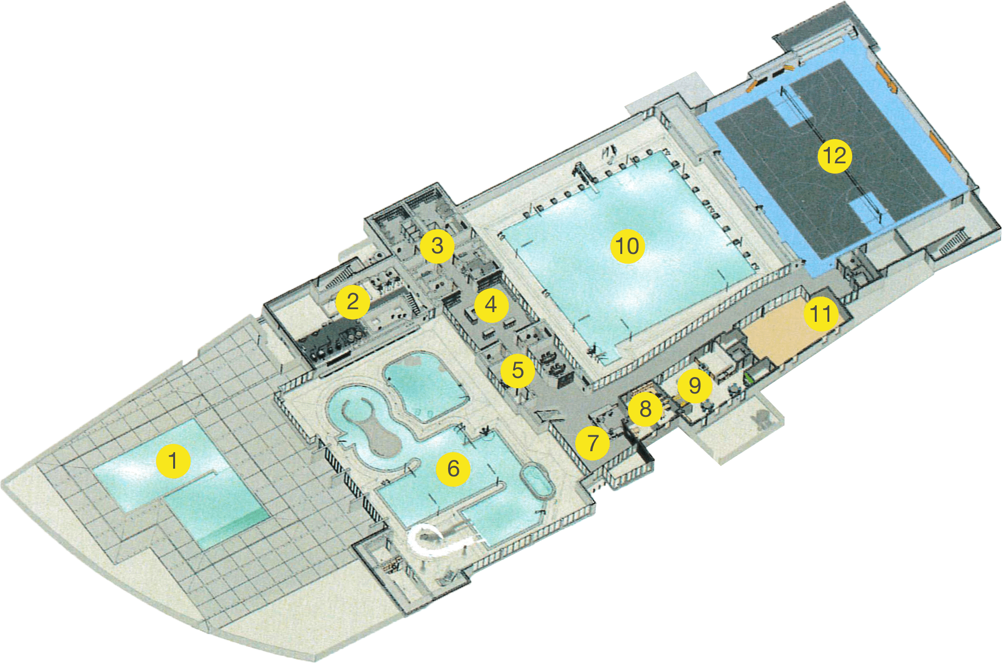 Floor Plan. Recreation Layout