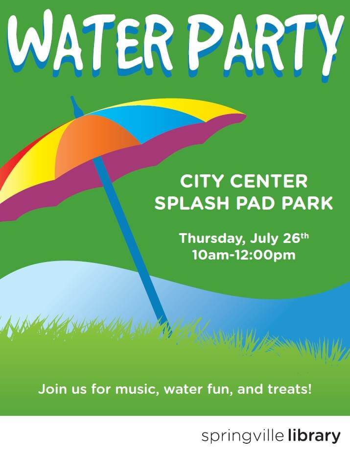 Water Party @ Splash Pad | Springville | Utah | United States