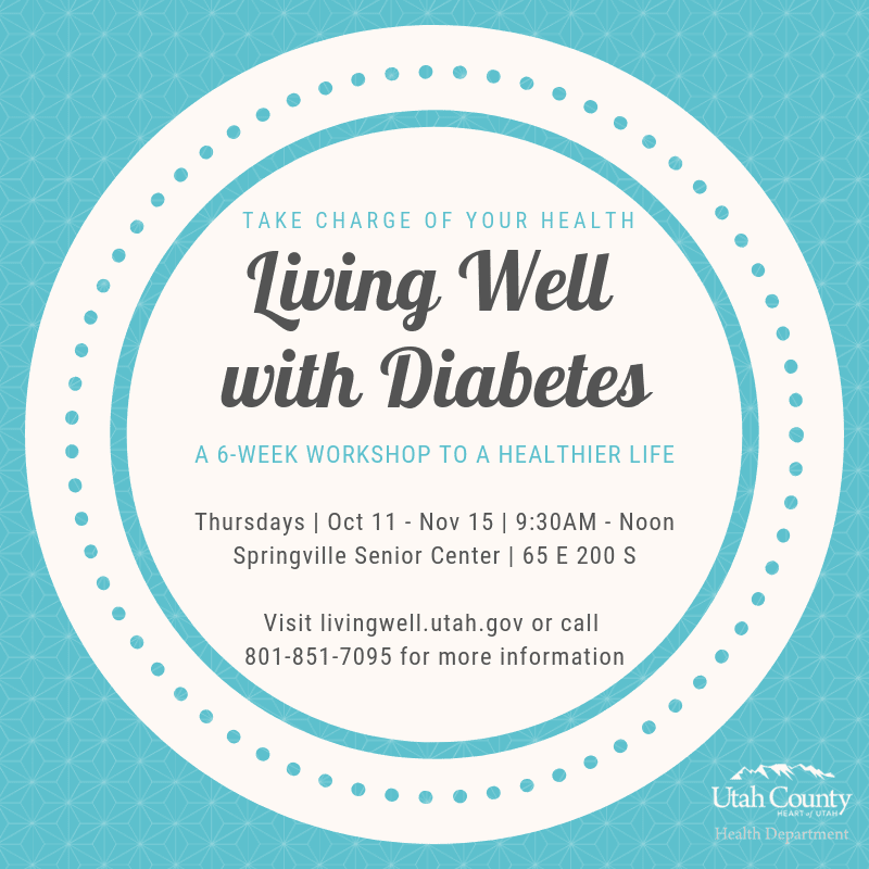 Living Well with Diabetes @ Springville Senior Center | Springville | Utah | United States