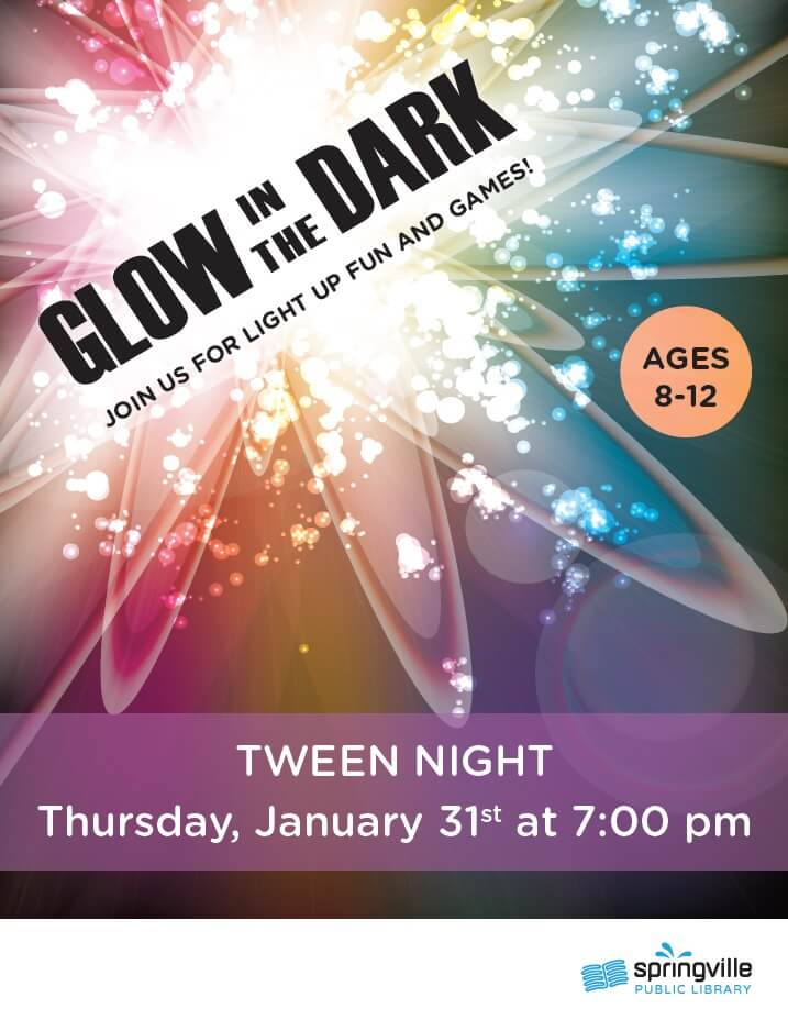 Tween Night @ Springville Public Library