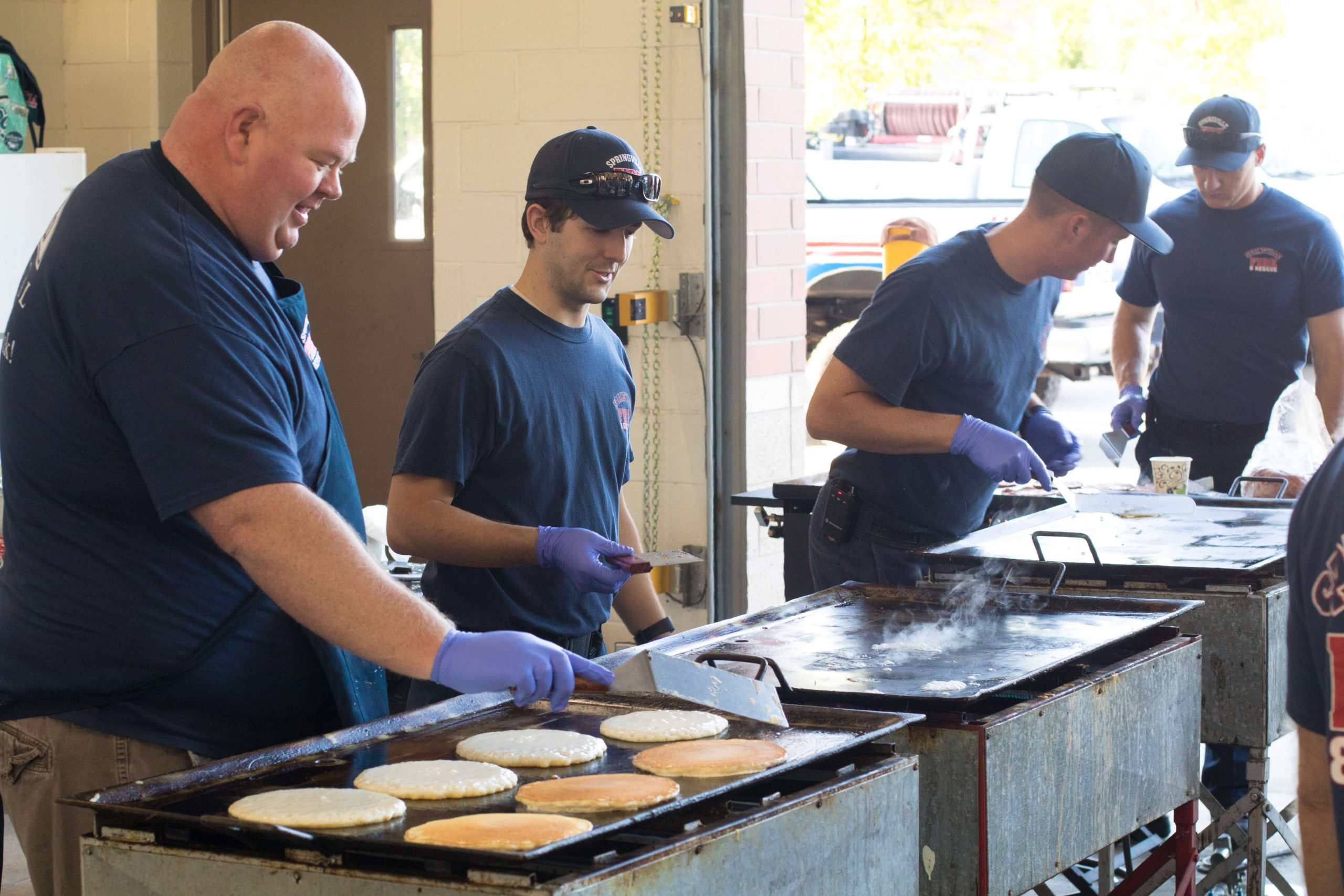 Fireman's Breakfast @ Springville Fire Station
