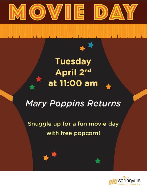 Movie Day @ Springville Public Library