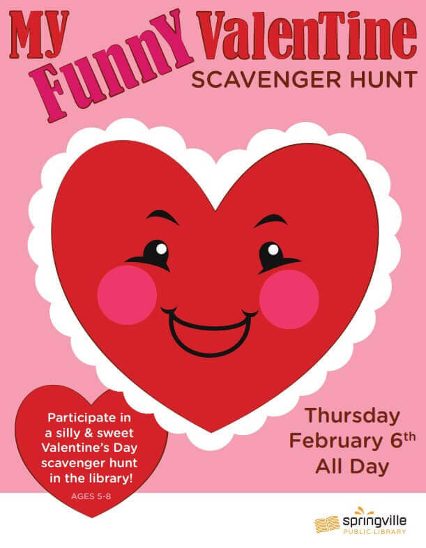 My Funny Valentine @ Springville Library